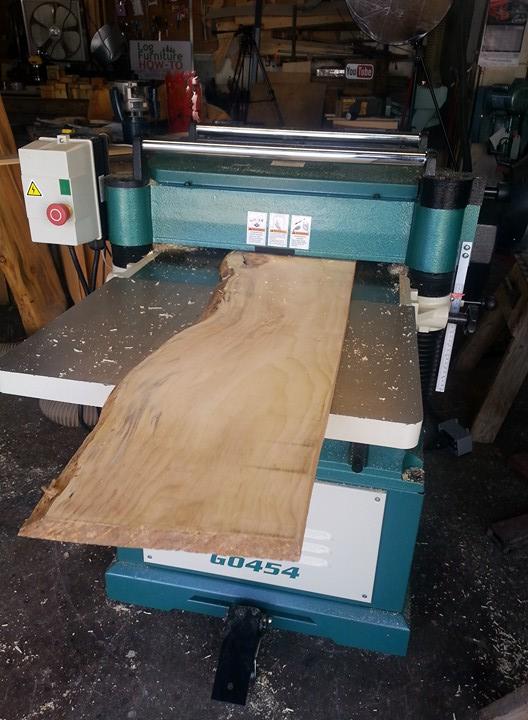 Planing Custom Milled Lumber (Demo) - Colorado Springs Sawmill