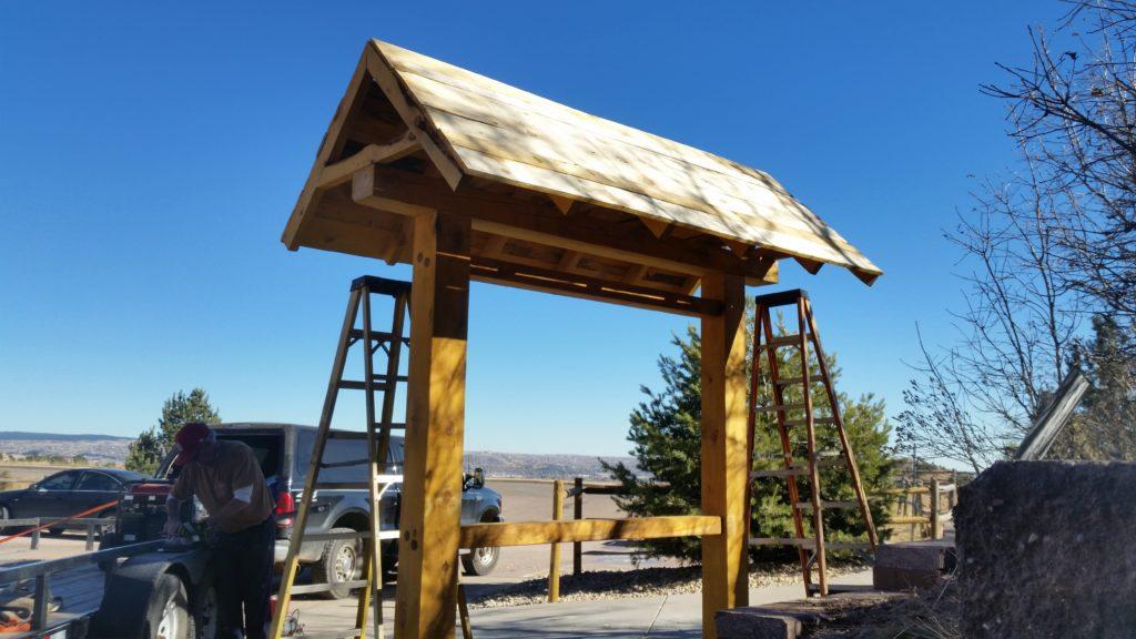 How-To Build A Timber Frame Signboard (Demo) - Colorado