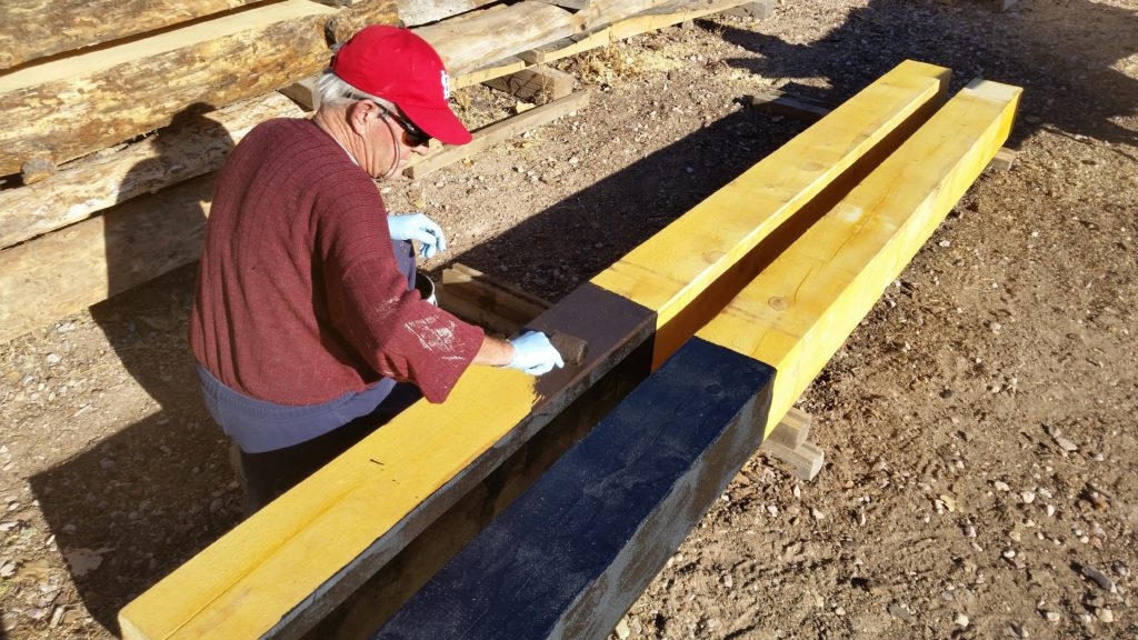 Water Proofing Posts